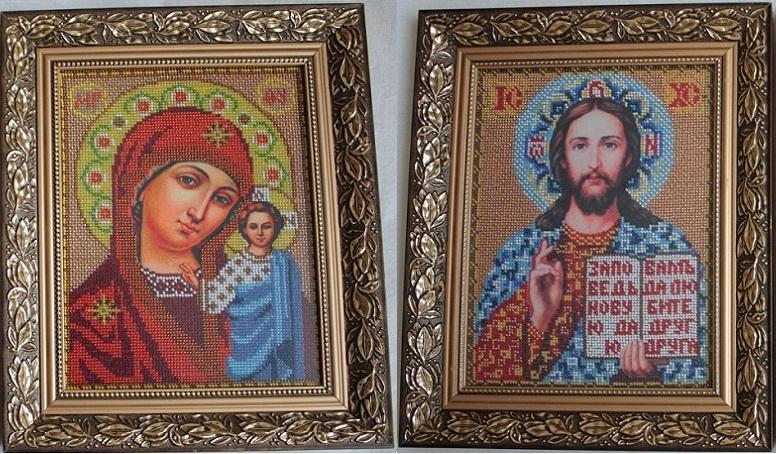 иконы бисером продаю: